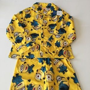 Other - Despicable Me 2 Minions Flannel Pajamas